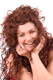 Laughing beauty Royalty Free Stock Image