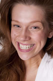 Laughing beauty teenager Stock Photo
