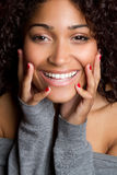 Laughing Black Girl. Beautiful happy black girl laughing Stock Photos