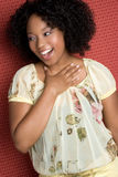 Laughing Black Girl Stock Photos