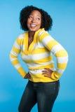 Laughing Black Woman royalty free stock photos