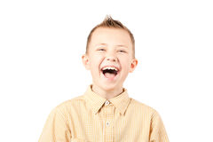 Laughing boy Royalty Free Stock Photos