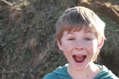Free Laughing Boy Royalty Free Stock Photo - 23882755