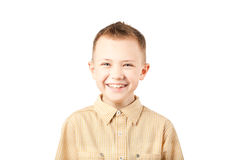 Laughing boy Stock Images