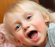 Laughing boy Royalty Free Stock Images