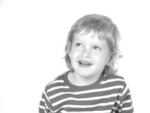 Laughing boy. Little boy laughing Stock Images