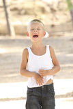 Laughing boy Royalty Free Stock Image