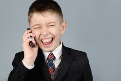 Laughing boy Stock Image