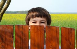 Free Laughing Boy Stock Photos - 9181743