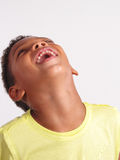 Laughing boy. Stock Photography