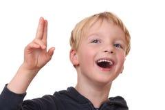 Laughing boy Royalty Free Stock Image