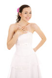 Laughing bride Stock Image