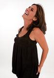 Laughing brunette Stock Photography