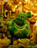 Laughing buddha. The statue of a laughing buddha Royalty Free Stock Photography