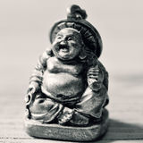 A laughing buddha in duotone Royalty Free Stock Image