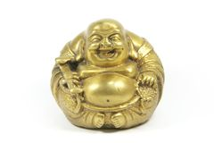 Laughing Buddha Isolated Royalty Free Stock Image