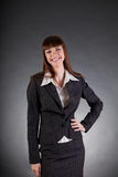 Laughing business woman Royalty Free Stock Photography
