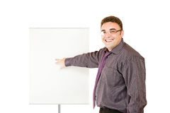 Laughing businessman Royalty Free Stock Images