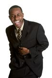 Laughing Businessman Stock Image