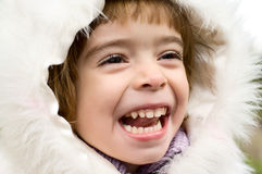 Laughing child Royalty Free Stock Photos