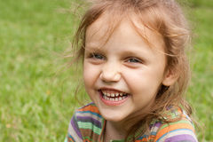Laughing child Stock Photos