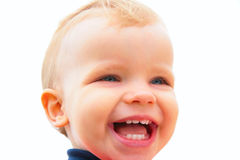 Laughing child Royalty Free Stock Photo