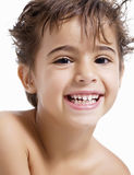 Laughing child Stock Photography