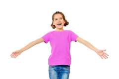 Laughing child Royalty Free Stock Images