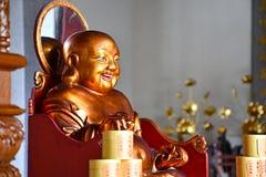 Laughing Chinese Style Maitreya Buddha. royalty free stock photo