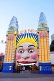 Laughing Clown, Luna Park Entrance, Sydney, Australia Royalty Free Stock Photography