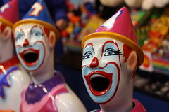 Laughing Clowns Stock Image