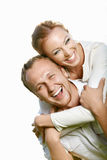 Laughing couple Royalty Free Stock Image