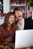 Laughing couple Royalty Free Stock Images
