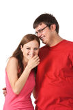 Laughing couple Stock Photography