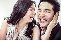 Laughing Couple Stock Photos