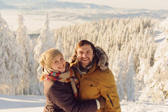 Laughing Couple Royalty Free Stock Photo