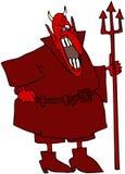 Laughing Devil royalty free illustration
