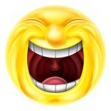 Laughing Emoji Emoticon Stock Photo