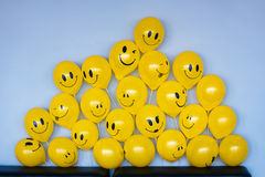 Laughing emoticons Royalty Free Stock Images