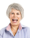 Laughing Expression Stock Photography