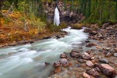 Laughing Falls - Yoho National Park Royalty Free Stock Photo