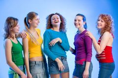 Laughing friends Royalty Free Stock Photos