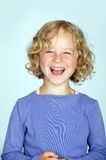 Laughing girl Stock Image