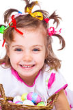 Laughing girl portrait Royalty Free Stock Photo