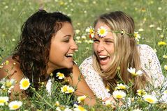 Free Laughing Girls Stock Photo - 730840