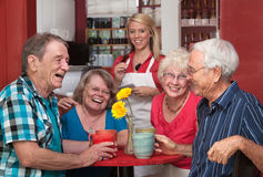 Laughing Group of People Stock Images