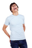 Laughing guy Royalty Free Stock Photos