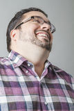 Laughing head off Royalty Free Stock Photo