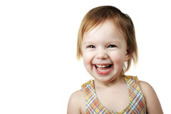 Laughing Ilttle Girl Stock Photography