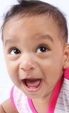 Laughing Indian Cute Baby Stock Photography